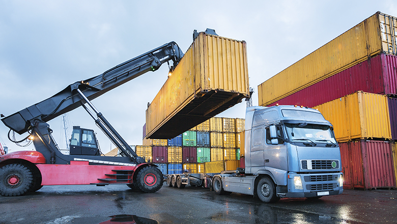 Automotive sensors en oplossingen voor heavy vehicles in container overslag