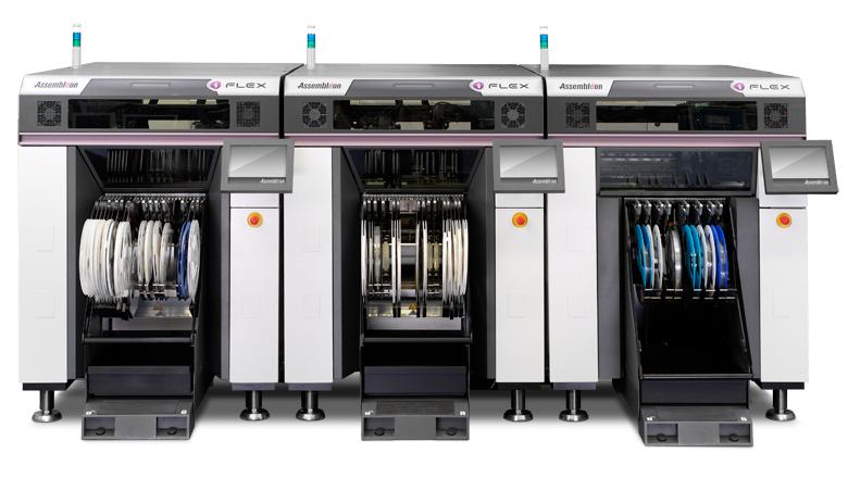 iFlex SMT detectie met optische sensoren van Sentech