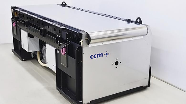Sioux CCM substraat drager met Sentech sensoren