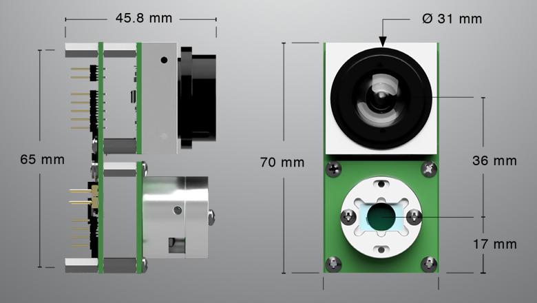 Lidar technologie 3D sensor schets