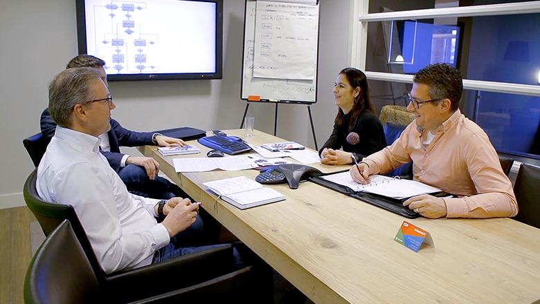 IIoT-projectteam werkt samen
