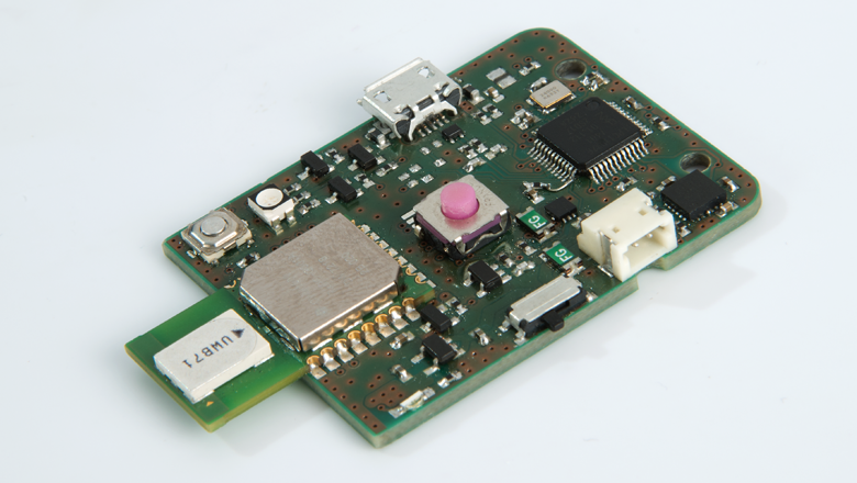 Ultra wideband locatie tag pcb