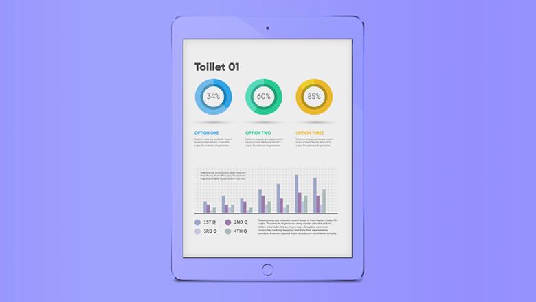 IoT Toilet dataopslag