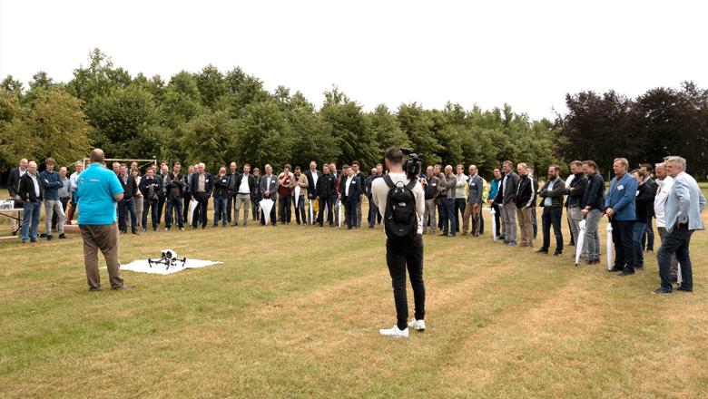 Klantendag 2018 (ketenintegratie) drone vliegen
