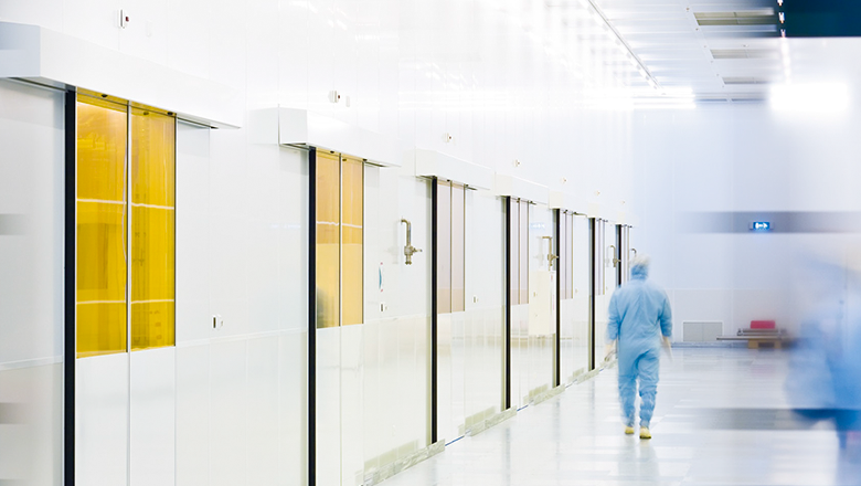 Cleanroom for production of sensormodules