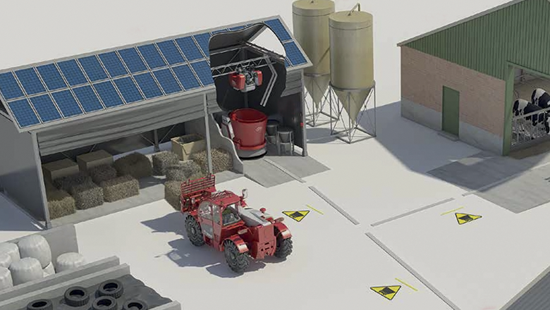 Lely Vector sensor technology with Sentech sensors