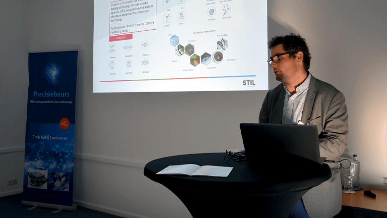 Sentech op Precisiebeurs 2018 met lezing door Matthieu Desjacques van STIL
