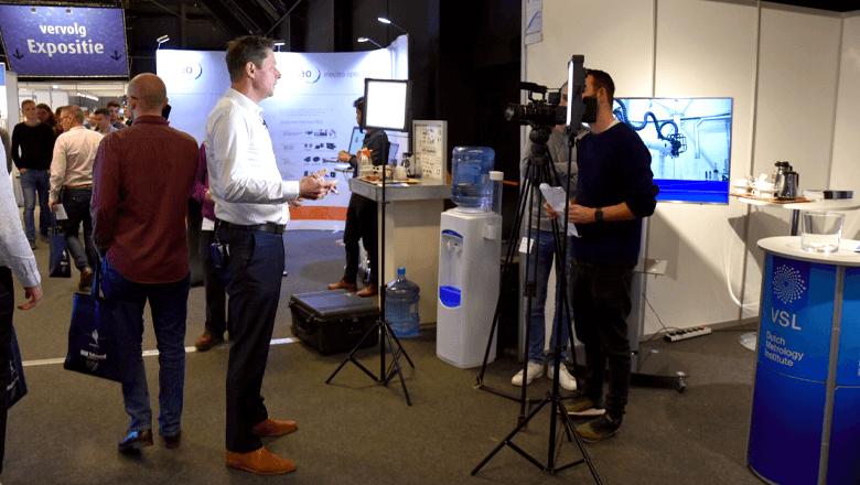 Sentech op Precisiebeurs 2018 met video-opnamen