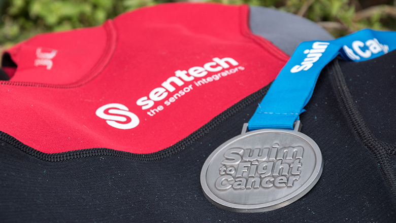 Medal of Swim to Fight Cancer IJzeren Man Vught