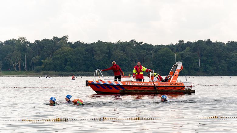 Swim to Fight Cancer Rescue team