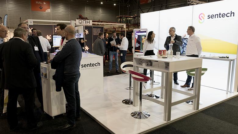 Sentech AgriFoodTech exhibition stand