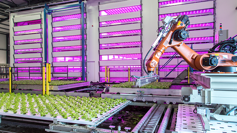 IIoT production chain in horticulture