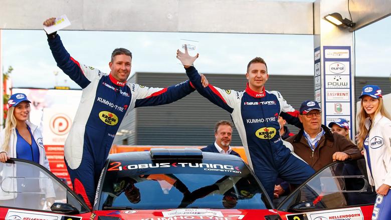 Young professional Hermen Kobus wins rally Hellendoorn