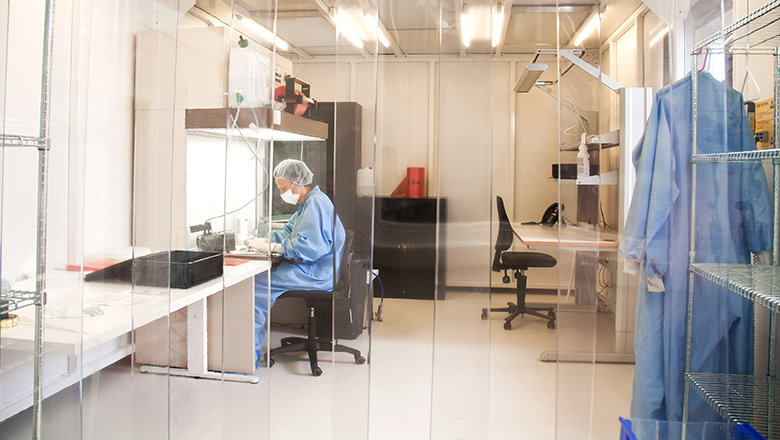 Sustainability in the clean room