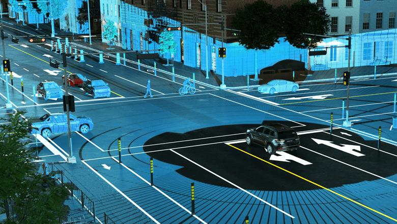 Detectie afstand van lidar sensor bij autonoom rijden