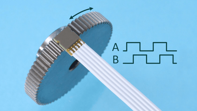 Inductive encoder Posic direct op tandwiel meten