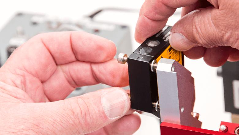 Laser sensor technology
