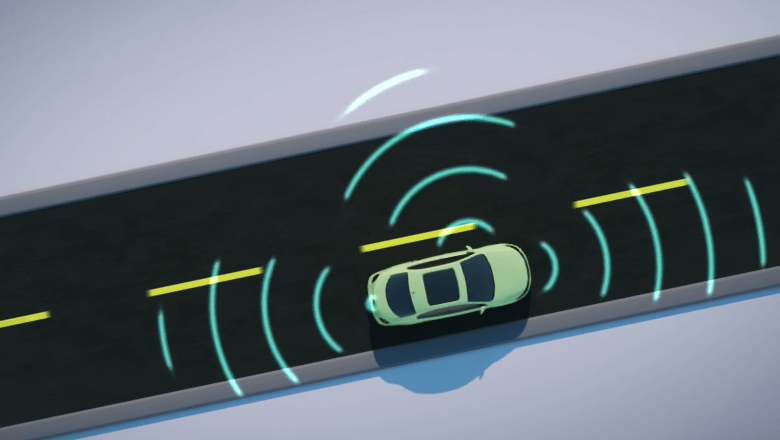 Distance sensor for autonomous driving