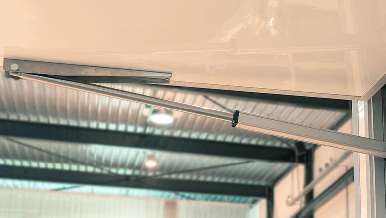 Slaglengte lineaire actuator is instelbaar door de integratie magnetic sensor