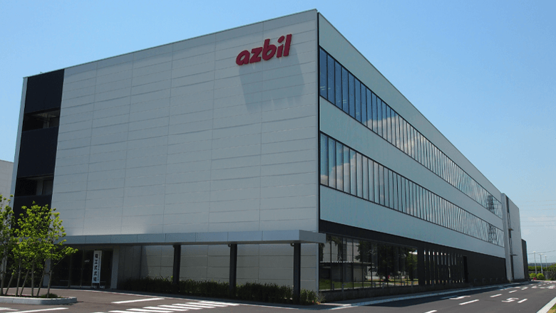Azbil factory in Shonan
