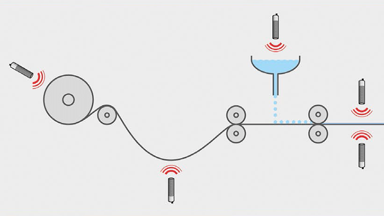 Pil sensoren: measuring distance with ultrasonic sensor