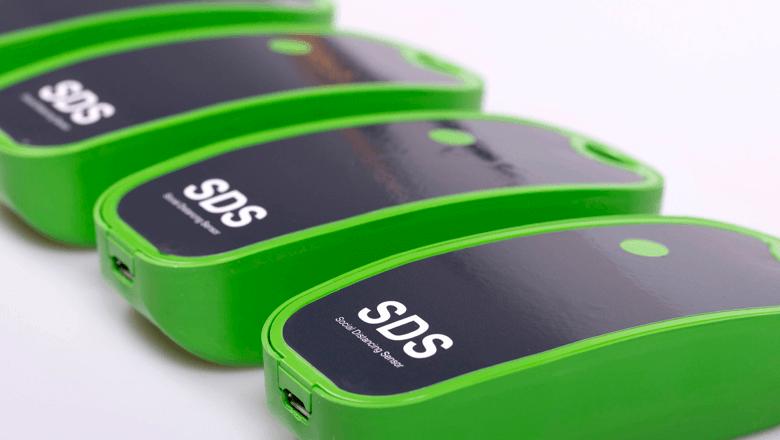Social Distancing Sensor helpt 1,5 meter afstand houden